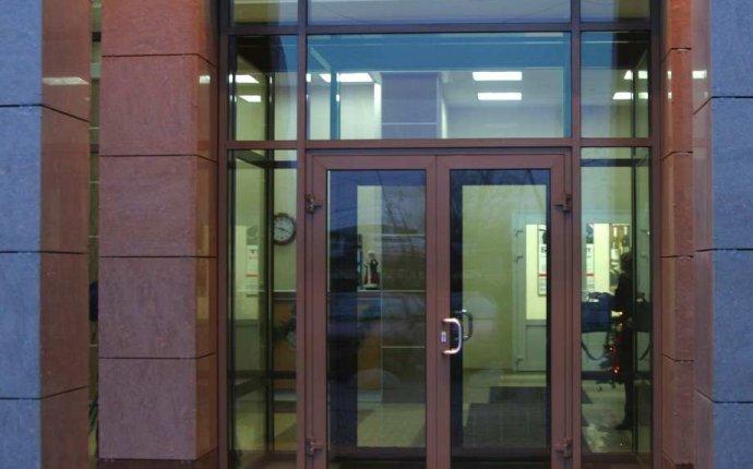 Алюминиевые входные двери: цены на двери из теплого алюминия