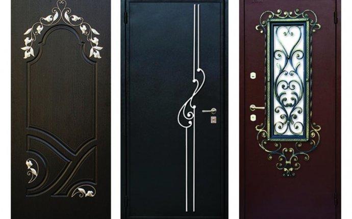 Двери двухстворчатые входные на заказ