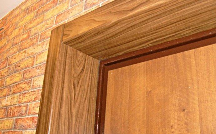Отделка косяков входной двери – как правильно сделать – Свой дом мечты