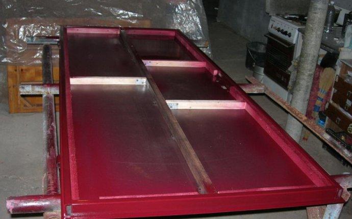 Железная дверь своими руками: как сделать металлическую дверь
